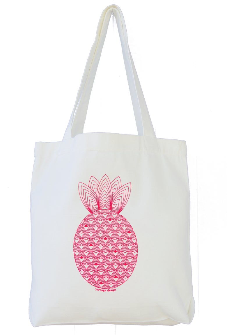 Image of Pineapple Market Bag {assorted colours}