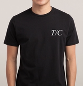Image of T/C EMBLEM SHIRT - BLACK