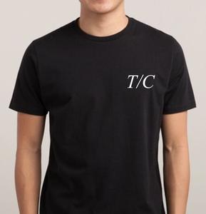 Image of T/C EMBLEM SHIRT - BLACK