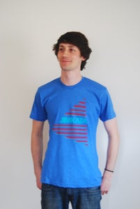 Image of Men's American Apparel Tee BLUE