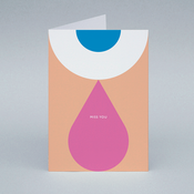 Image of Miss You card