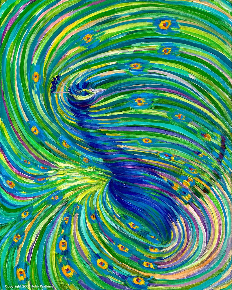 Image of Peacock - Beauty. Foresight. Clairvoyance.