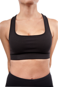 Image of SK8RATS Sports Bra (Black)