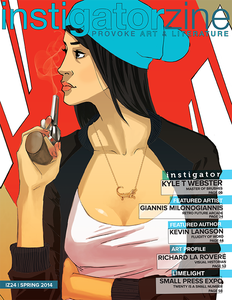 Image of Instigatorzine Vol. 24: HARD-BOILED