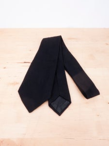 Image of Ann Demeulemeester - Boiled Wool Necktie