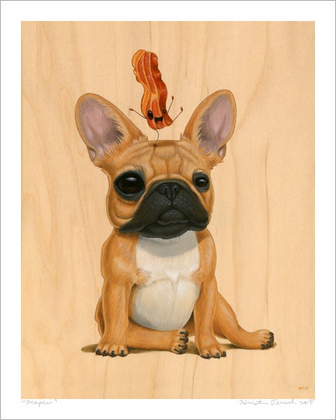 "Image of ""Maple"" Giclee Print"