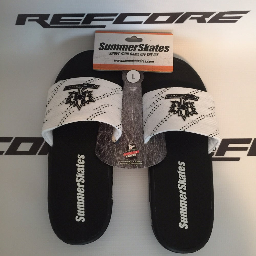 Image of REFcore SummerSkates (New Maple Leaf Logo) White/Blk