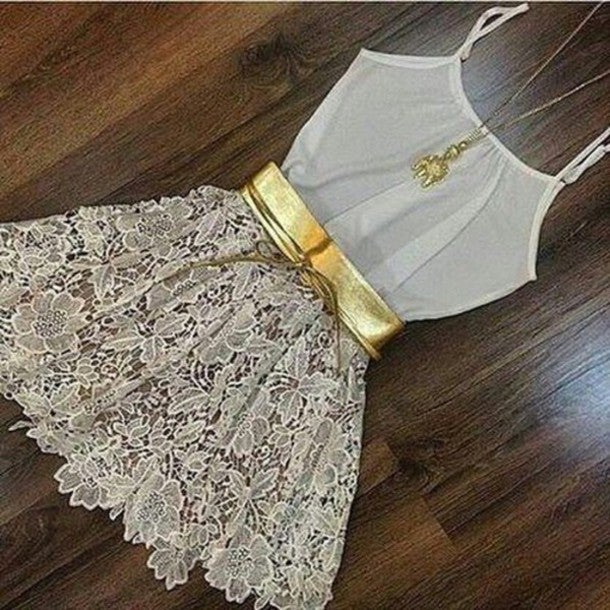 Image of Hot lace cute dress