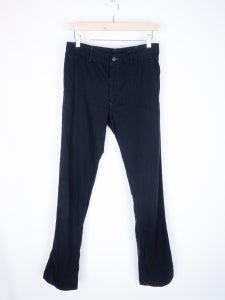 Image of Comme des Garcons Shirt - Overdyed Herringbone Twill Trousers