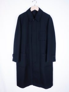 Image of Comme des Garcons Homme - FW96 Bonded Wool Neoprene Coat