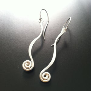 Image of Fiddlehead Earrings