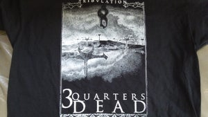 "Image of ""Tribulation"" Cross design T-shirt"