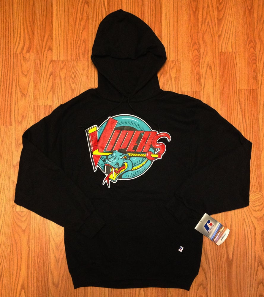 Image of Retro Detroit Vipers Hooded Sweatshirt