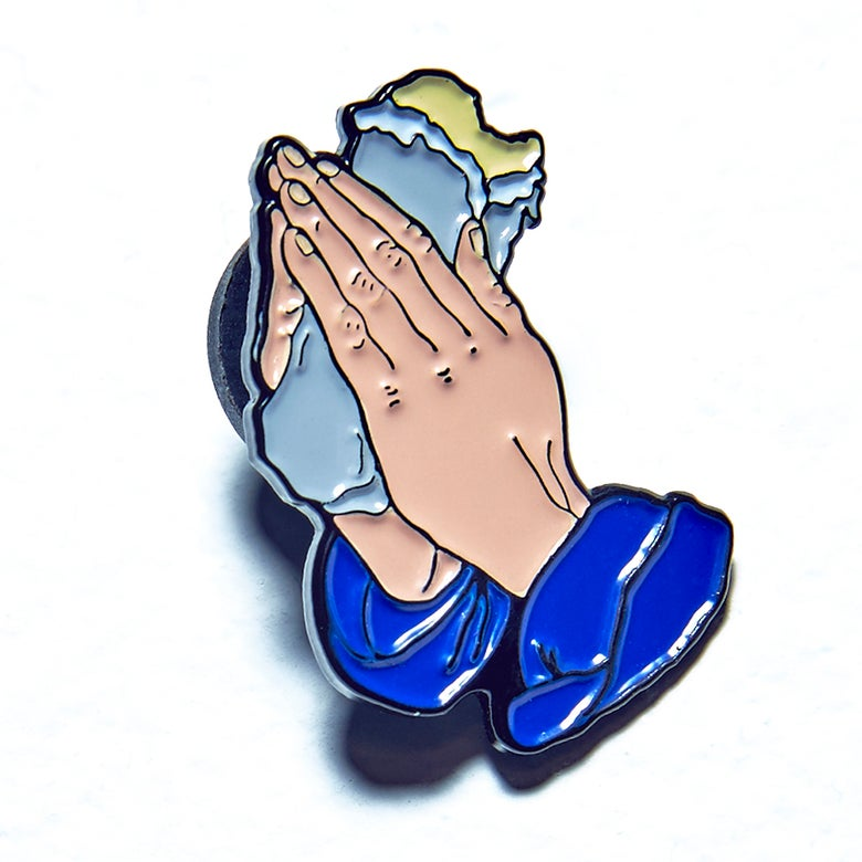 Image of All Praise Be Lapel Pin