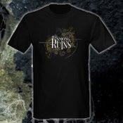 Image of Black 'Mirror Mask' T-shirt