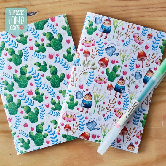 Image of Notebook Garden or cactus ·SMALL·