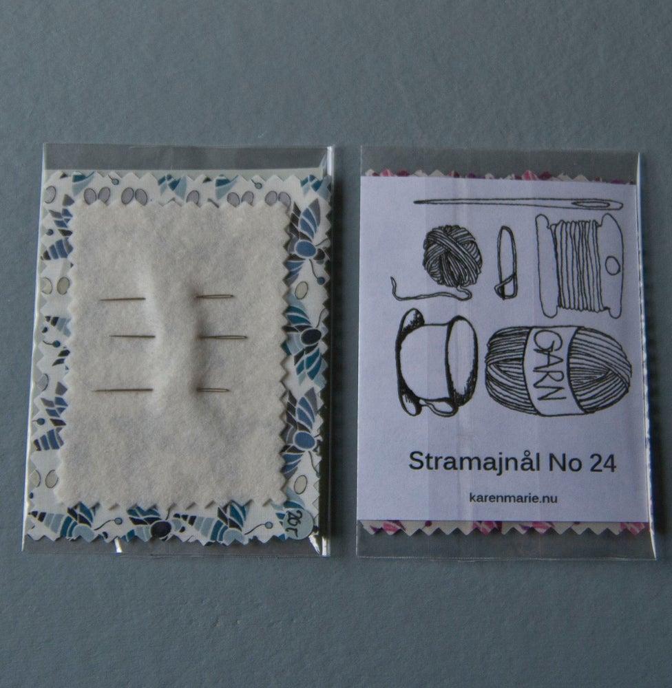 Image of Stramajnål nr. 24, 3 stk