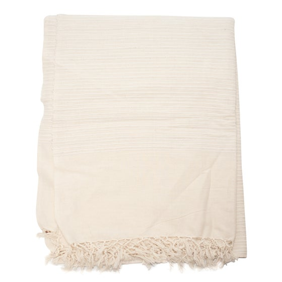 Image of White Indian Throw