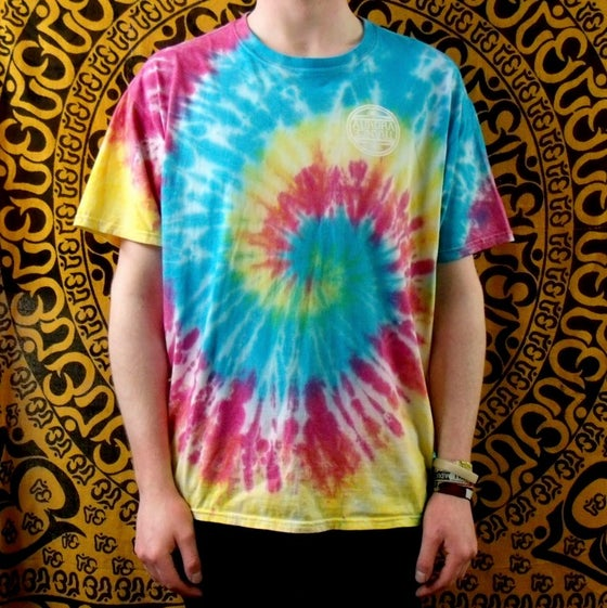 Image of Spiral tie dye t-shirt