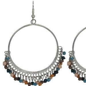 Image of Zulu Earrings (Nile Blue) by Eb&Ive