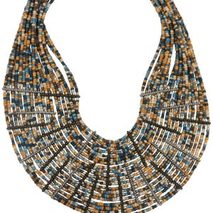Image of Zulu Collar (Nile Blue) by Eb&Ive
