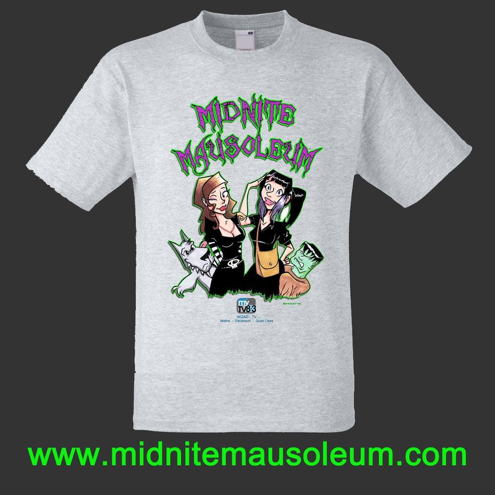 "Image of Midnite Mausoleum""Cartoon Design"" Shirt"