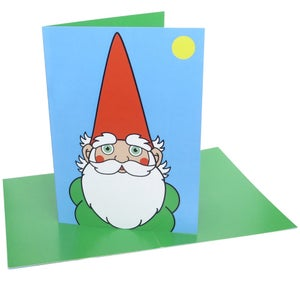 Image of Gnome (greeting card)