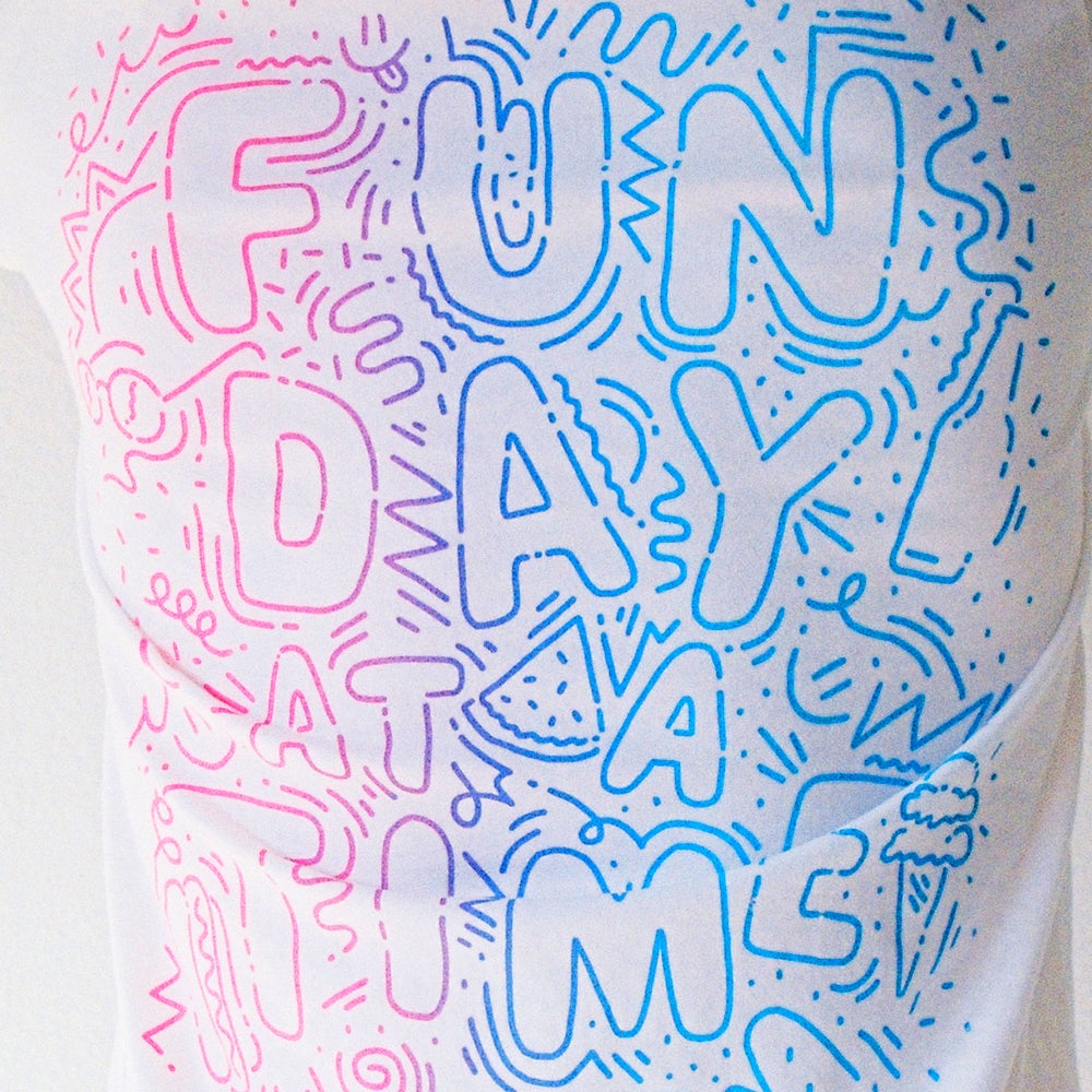 Image of Fun Day At A Time Tee by Will Bryant