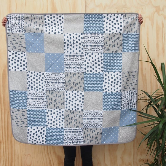 Image of QUILT / blue