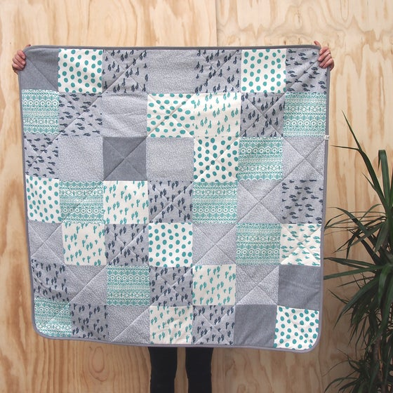 Image of QUILT / Turquoise