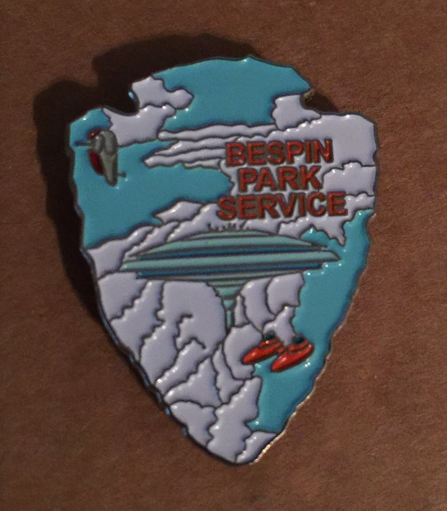 """Image of Bespin Park Service Series #5 Lapel Pin 1.25"""""""