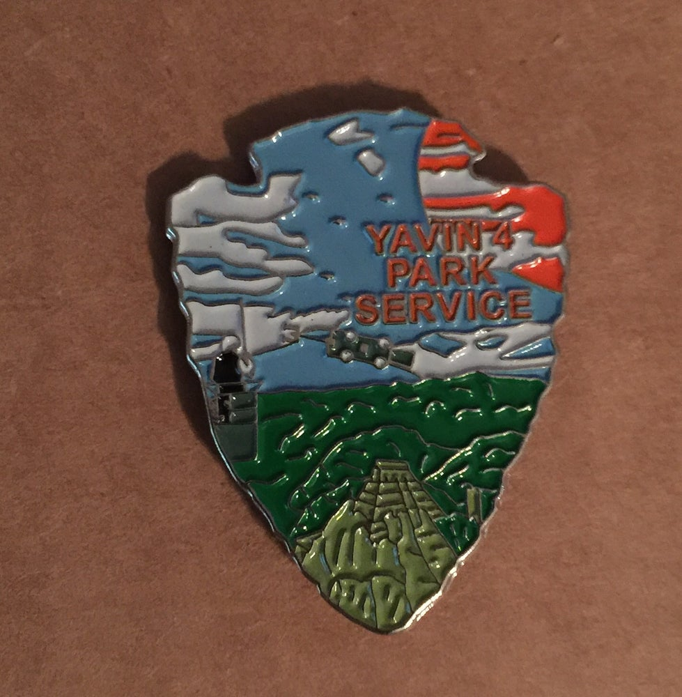 Image of Yavin 4 Park Service Series #6 Lapel Pin