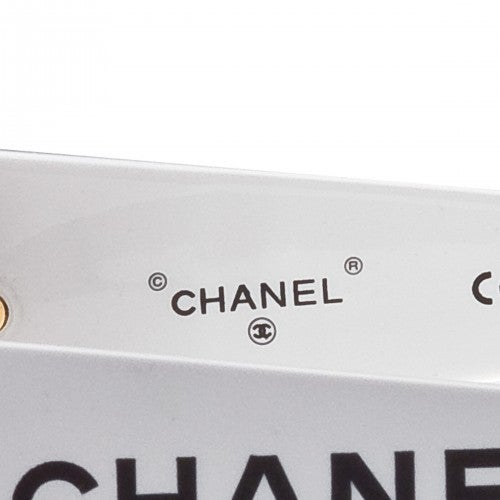 Image of SOLD OUT Chanel Authentic Oversized Vintage Logo Sunglasses