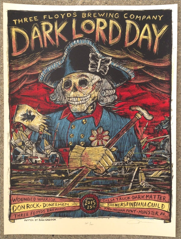 Image of Dark Lord Day 2015 Poster