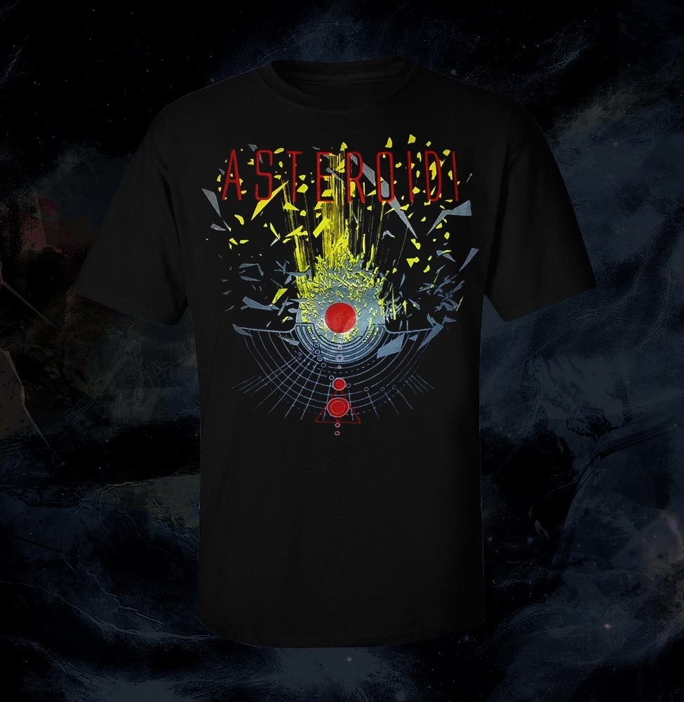 Image of T-Shirt Asteroidi (Black)