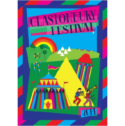 Image of Limited Edition Glastonbury Picture Perfect 2014