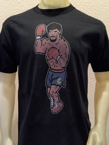 Image of Pacman Punchout Sayerew Apparel x Lemon Lime Kingdom collaboration t-shirt