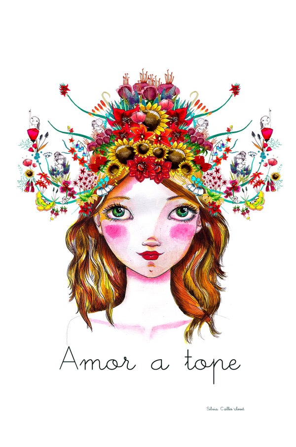 Image of Lámina Amor a Tope