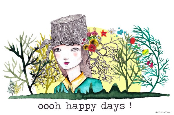 Image of Lámina Happy Days
