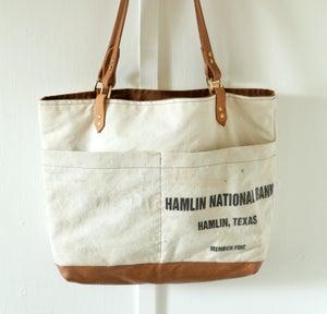 Image of Vintage Bank Bag Tote
