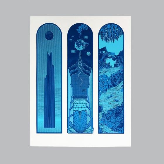 Image of EÉL OÜY Triptych - color