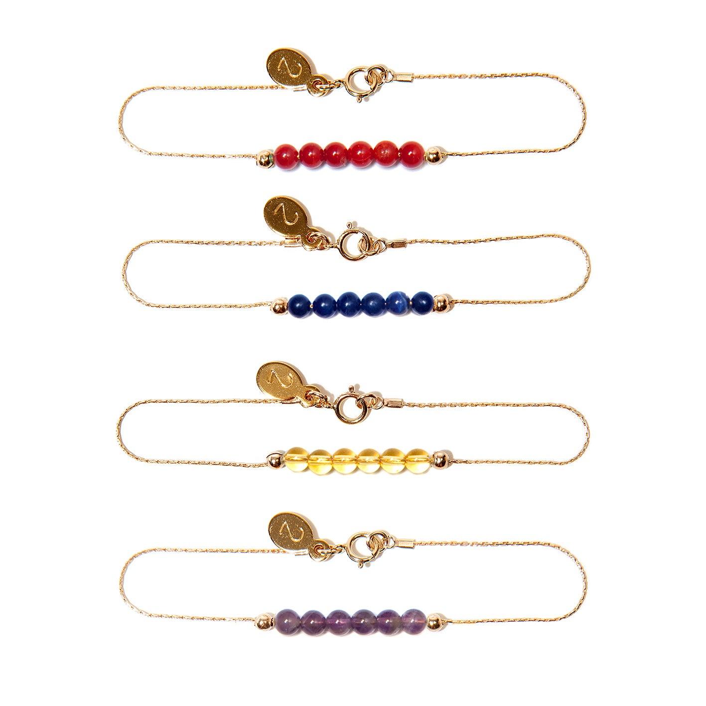 "Image of ""Petite Ami"" Bracelets - 14 Carat Gold"