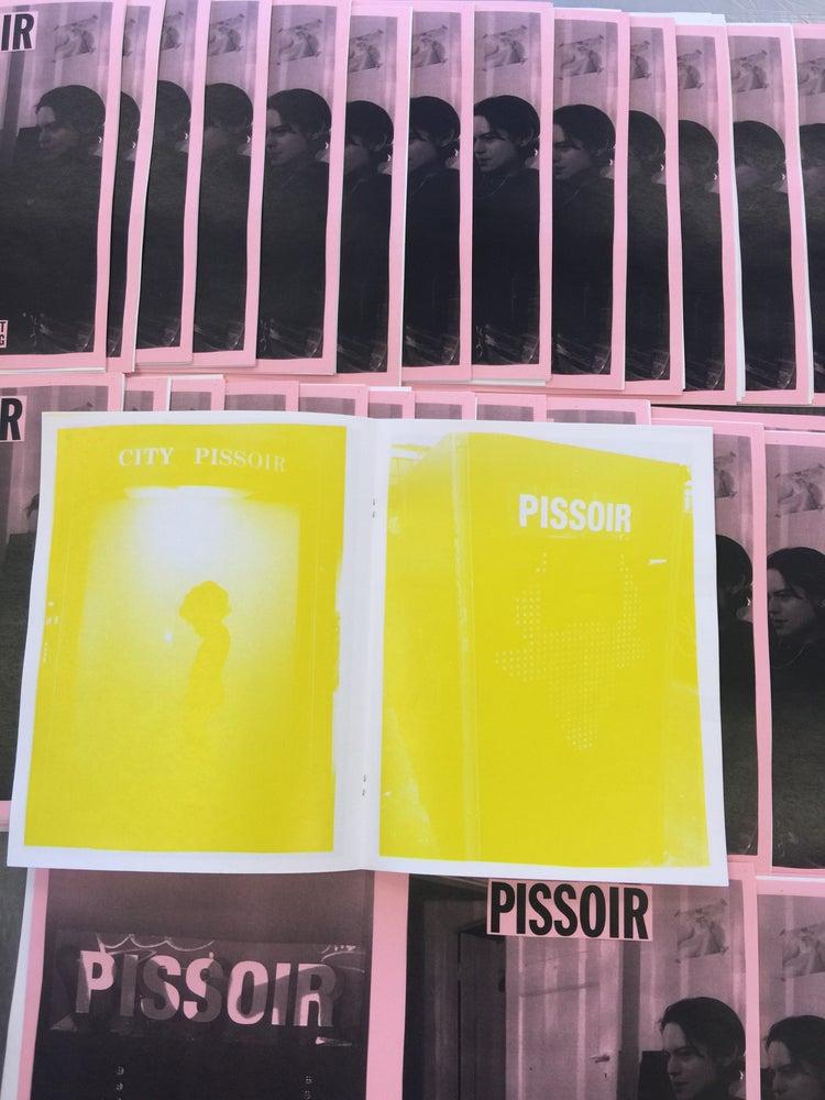 Image of PISSOIR ZINE BY CALI THORNHILL DEWITT & HARUKA SPRING