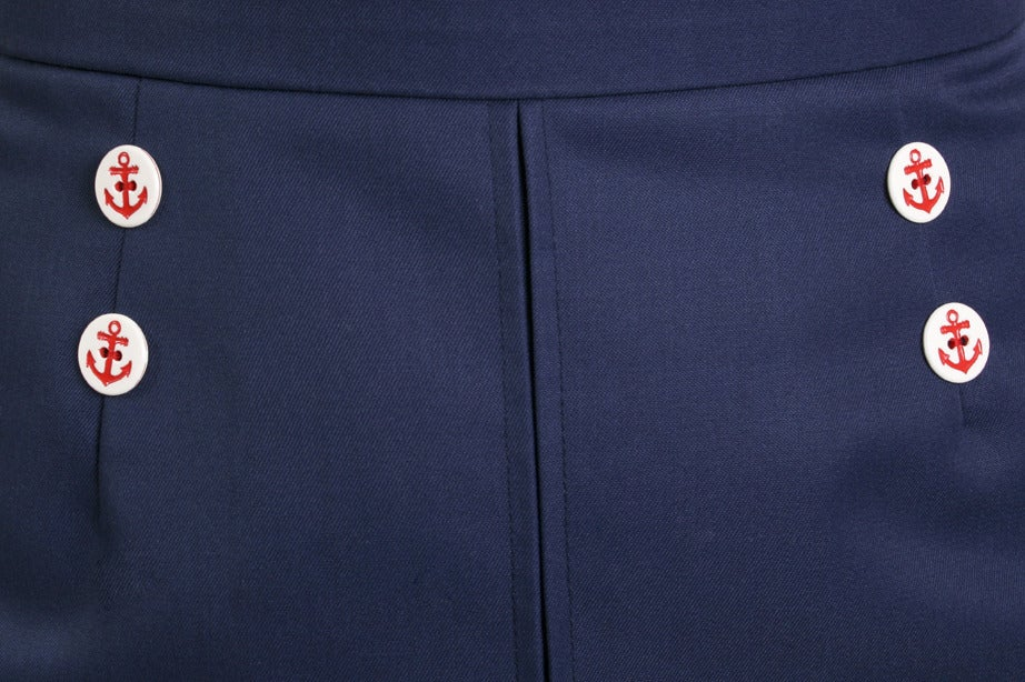 Image of 'Little Jess' skirt - Nautical