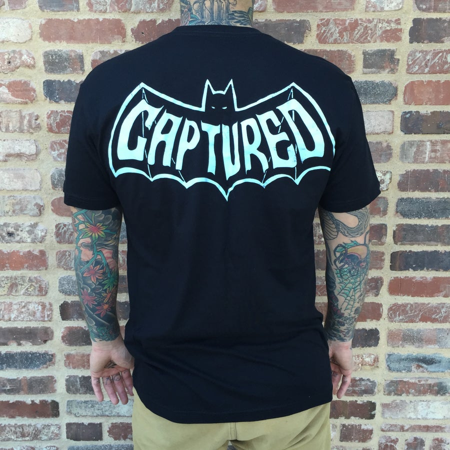 Image of CAPTURED BAT T-SHIRT