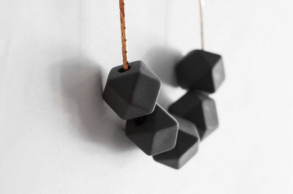 Image of Delta Necklace - Slate