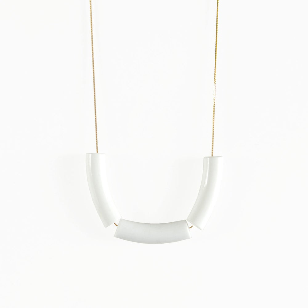Image of Coco Blanc Necklace - Ivory