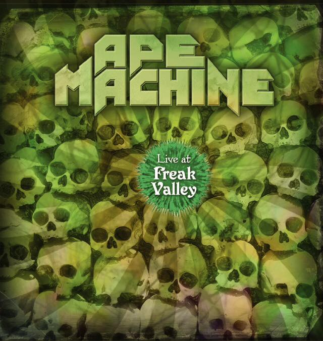 Image of Ape Machine - Live at Freak Valley (Limited Edition LP and DVD set)