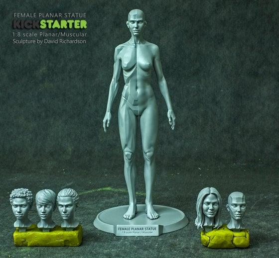 "Image of 9"" Female Planar Statue Pre-Order (Sept-Dec)"