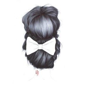 Image of BOW BUN *PRINT*